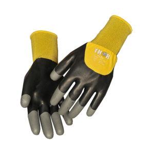 Dyppede handsker